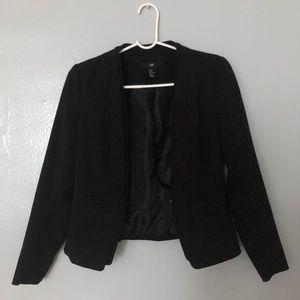 H&M Black Blazer sz 8